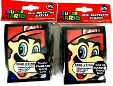 2 packs Ultra PRO Deck Protector Super Mario Sleeves - Super Mario