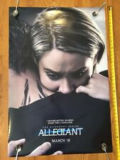 DIVERGENT: ALLEGIANT Original DS Double Sided 2-Sided Movie Poster   LARGE 27x40