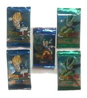 LOT OF 6 DRAGON BALL Z Awakening Trading Card Game 12 CARDS PER PACK
