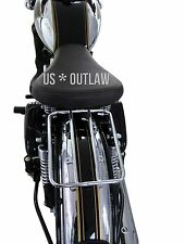 porte bagage pour Royal Enfield 500 Bullet 350 pour siège simple rack chrome