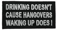 Drinking Doesn't Cause Hangovers Waking Up Does Patch PW F1D1F