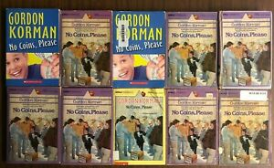 Gordon Korman classic NO COINS PLEASE book - funny!
