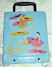 VINTAGE 1961 MATTEL BARBIE RECORD TOTE HOLDS TEN FORTY FIVE RECORDS