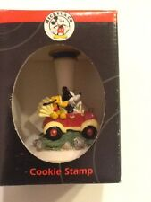 "Disney Mickey & Co. Collectible Ceramic Cookie Stamp ""Roadies"" New In Box"