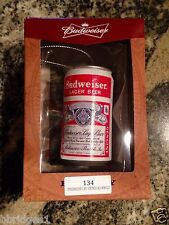 'Budweiser Vintage Can' Lager Beer Christmas Ornament - NIB