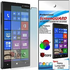 3 Films for NOKIA Lumia 830 Protector Save Screen LCD Display Film