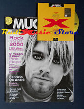 Rivista MUCCHIO SELVAGGIO EXTRA 1/2001 CD Afterhours-Pink Floyd De Andre' Dylan
