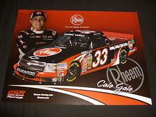 2012 CALE GALE #33 RHEEM VERSION 2 NASCAR POSTCARD