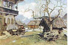 16299 AK, HdK 260, G.Th. Kempf-Hartenkampf, Um Ostern, Landschaftszene um 1930