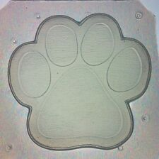 Flexible Mold Kitty Cat Or Dog Paw Resin or Chocolate Mould