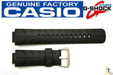 CASIO G-300 G-Shock Original 16mm Black Rubber Watch Band Strap G-306X G-301B