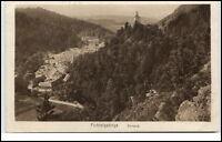 Berneck Bayern alte Postkarte ~1920/30 Fichtelgebirge Gesamtansicht ungelaufen