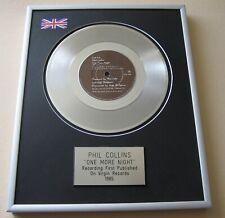 More details for phil collins one more night platinum presentation disc