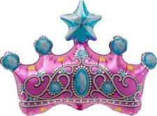 Princess Crown...Foil Birthday Party Balloon...36cm