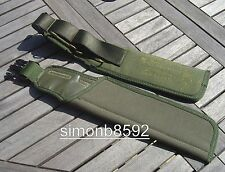 NEW BRITISH ARMY SURPLUS ISSUE PLCE IRR OLIVE GREEN 58 PATT FROG,SCABBARD,SHEATH