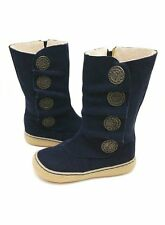 NIB LIVIE & LUCA Shoes Boots Marchita Navy Blue 4 5