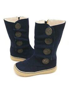 NIB LIVIE & LUCA Shoes Boots Marchita Navy Blue 4 5