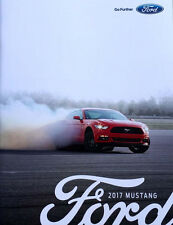 2017 FORD MUSTANG BROCHURE GT - 350R - SHELBY specs and colors pictures