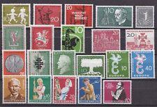 Bund Jahrgang 1958 - Auswahl aus Michel Nr. 281 - 301 , ** , postfrisch
