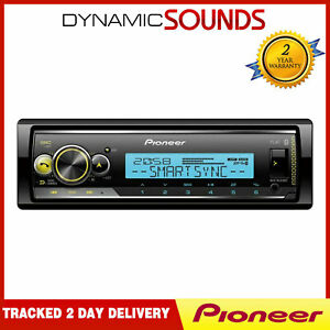 Pioneer MVH-MS510BT Marine Radio Bluetooth USB 1-DIN Radio Boat and Bath Rooms