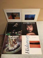 6 Vinyl Record LP Lot Tom Scott, Chuck Mangione, Windham Hill, Jean Luc Ponty