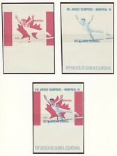 Equatorial Guinea Olympische Spiele Olympic Games 1976 8 Gymnastic proofs