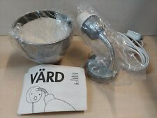 Ikea VARD VÄRD Wall Lamp Light Silver New Boxed @16B