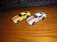 Lot of 2 Vintage 1/64 Hot Wheels Datsun 240Z Sport Car Race Cars