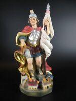 Santo Florian, Patrón Bomberos, 20cm, Estatua Iglesia, de, Colorido