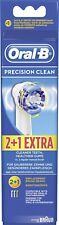 Oral B toothbrush heads precision clean 2+1 Extra
