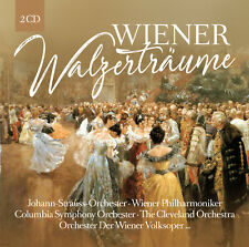CD Wiener walzertraeume d'Artistes Divers 2CDs