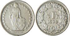 SUISSE  ,  1/2  FRANC  ARGENT  1904 B  BERNE