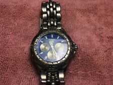 Vintage Fossil Blue Watch