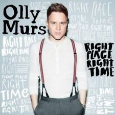 OLLY MURS ( NEW SEALED CD ) RIGHT PLACE RIGHT TIME ( TROUBLEMAKER FT. FLO RIDA )