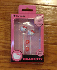 HELLO KITTY EARBUDS HEADPHONES NEW IPHONE Tablet Earphones Stereo Headphones NEW