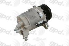 Global Parts Distributors 6512306 New Compressor And Clutch