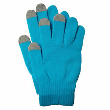 Muvit Touch Screen Gloves Handschuhe MUHTG0013, Size M, hellblau, blue, Blister