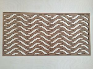 Radiator Cabinet Decorative Screening Radiator Grilles MDF 3mm and 6mm item A16