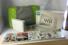 Wii Bundle: Console + Balance Board + Carry Case + 6 Games