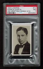 PSA 7  CHARLIE CHAPLIN 1926 - 1929 Kemmel Chocolate Card #72 RARE