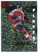 1997-98 Be A Player ANDREW CASSELS Prismatic Die Cut Auto Calgary Flames SP /100