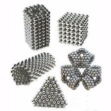 Silver 3mm 216pcs Set Magnet Toy Bucky Balls Magic Balls like Buckyballs Neocube
