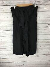 COAST Strapless Dress - Size UK12 - Black - Great Condition