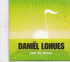Daniel Lohues-Baat Bij Muziek cd maxi single 4 tracks cardsleeve