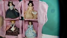 Lot  of  4 Madame Alexander First Lady Doll Collection Series 2  Original Box's