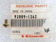 Kawasaki NOS NEW 92009-1262 Screw EJ EL EN ER EX KAF ZG ZL ZR ZX 1984-2012