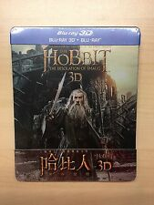 The Hobbit: The Desolation of Smaug Blu-Ray Steelbook - Taiwan 3D + 2D