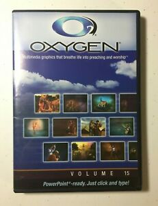 Oxygen Preaching Graphics PowerPoint Ready CD