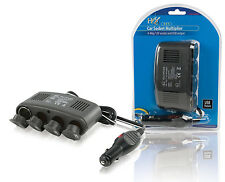 ADAPTATEUR DC ALLUME-CIGARE 1 ENTREE 4 SORTIES 12 VDC USB 5 VDC 10A VOITURE