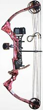 "Pink Parker SideKick XP Compound Bow Package RH 30-50 lb 18""-28"" Draw Lady youth"